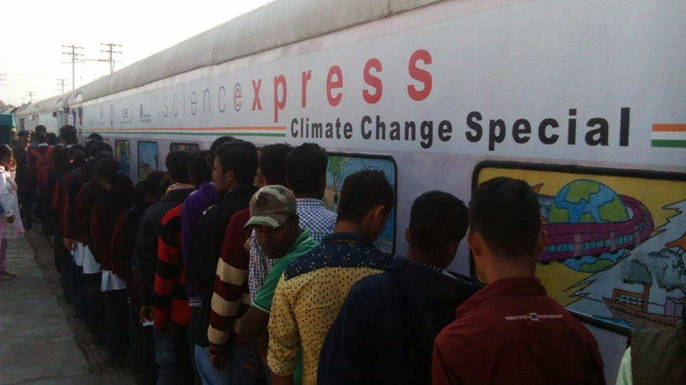 Science Express on Climate Change Special Action